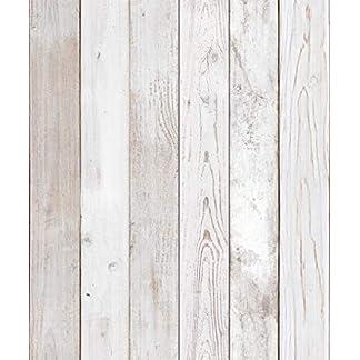 Papel mural autoadhesivo con imágenes de madera rústica o envejecida