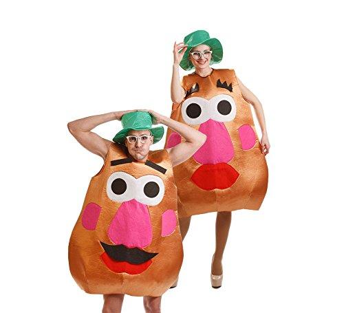 Disfraz de Señora Patata para adulto
