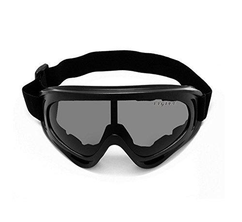 YYGIFT® Skibrille Snowboard Wintersport Brille Snowboardbrille Schneebrille Wind Staubschutz Schutzbrille Radsportbrille Skifahren Schifahren für Damen Herren größere Kinder Jungen und Mädchen