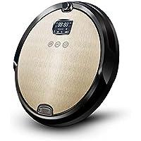 Aspirador robótico, Robot de aspiración fuerte con voz inteligente y temporización remota, Robot de