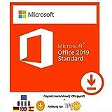 Microsoft Office 2019 Standard 32 bit & 64 bit - Original Lizenzschlüssel + Anleitung von TPFNet - Bei uns steht die Kundenzufriedenheit an erster Stelle. - Geprüfte Qualität und 100% Kundenservice an. - Nach Ihrem Kauf erhalten Sie u...