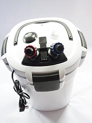Excelsior Aquarium Cannister Filters, External Fish Tank Superior UV Sterilised Filtration, Packed Full Of Media For Parasite & Algae Free Aquarium Water (Excelsior 360)