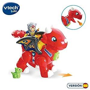 VTech- Fauces El Gran Dragón Tuttut Amigos Juguete Interactivo con Canciones, Voces Y Dos Personajes, Multicolor, Talla Única (3480-519622)