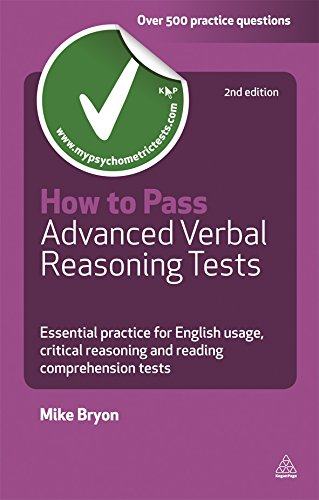 How to Pass Advanced Verbal Reasoning Tests (Testing Series)