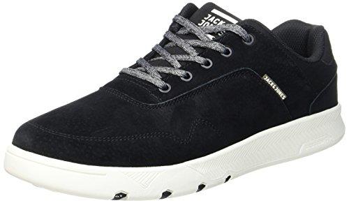 JACK & JONES Herren JFWHOUGHTON Nubuck Anthracite Sneaker, Grau, 46 EU