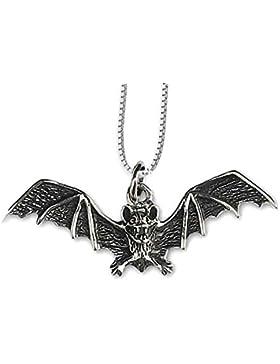 Anhänger Fledermaus Fledermausanhänger aus 925er Silber – Reichtum - Schmuck mit Kette Halskette Silberkette 1054