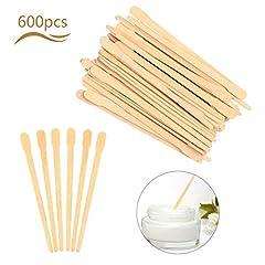 600 Stücke Matogle Holzspatel Haarentfernung