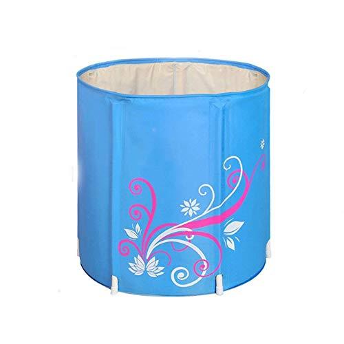 JTYX Badewanne, die Portabler Insulation Home Shower Becken Sitzbadewannen faltet