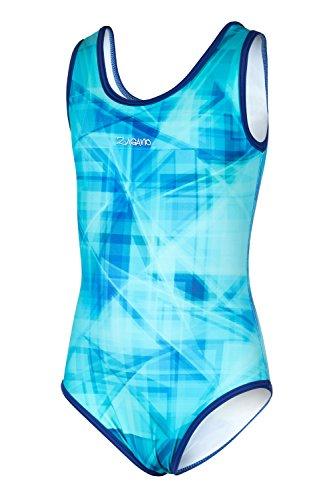Zagano Adam Lipski Kinder Schwimmanzug, 7003, 03-hellblau, Gr.140 (Schwimmen Bekleidung Mädchen)