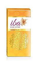Iba Halal pure Attar Amber Oudh, 10ml