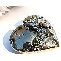 Reiki Healing Energy Charged Einzigartiger Pyrit Herz Kristallstein 187 g (wunderschön in Geschenkverpackung verpackt) preisvergleich bei billige-tabletten.eu