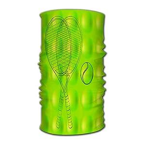 Kkyoxdiy Men & Women Bandana Face Sun Mask Tennis Ball Pattern Uv Protection Magic Scarf