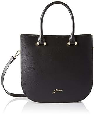 Ggvb005, Womens Top-Handle Bag, Nero, 11.5x27x29 cm (W x H L) Gattinoni