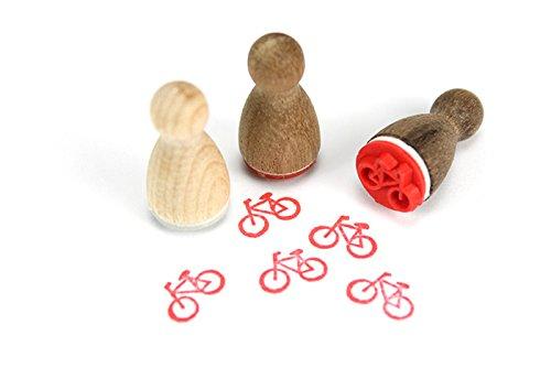 Stemplino Mini Stempel Fahrrad -