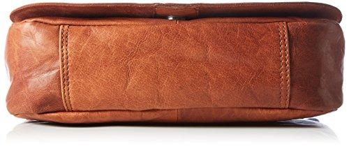 Spikes & Sparrow - Flap Bag, Borse a tracolla Donna Marrone (Brandy)