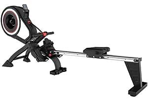 SportPlus Vogatore ad aria professionale | Rower pieghevole | Connessione Wireless a Cardiofrenquenzimetro | Display LCD | 8 Livelli di Resistenza | Peso Massimo 150kg