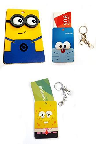 Set de 3 llaveros porta tarjetas con tus personajes favoritos. Son ideales para llevar en tu bolso, mochilas. No realizamos envíos a Baleares y Canarias.