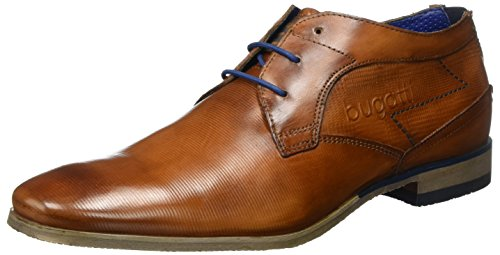 Bugatti Herren 312105071100 Derby, Braun (Cognac 6300), 43 EU