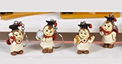 Idea Regalo - 24 pz portachiavi coccinella Laurea bomboniera in resina cm. 4,4 Mandorle bomboniere by Paben