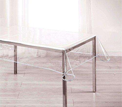 Mediawave store tovaglia cerata rettangolare pvc 150x275 cm 302996 trasparente e impermeabile