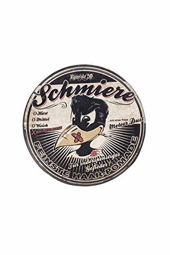 Rumble59 Schmiere Pomade Knüppelhart 140 ml Feinste Haar Pomade für einen starken Halt & prächtigen Glanz