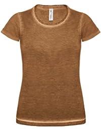 B&C - T-shirt denim 100% coton - Femme