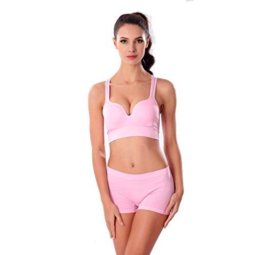 Soft BH ohne Bügel,KEERADS Damen Deep U Bra Push-Up BH Unterwäsche (Schwangerschafts-sportkleidung)