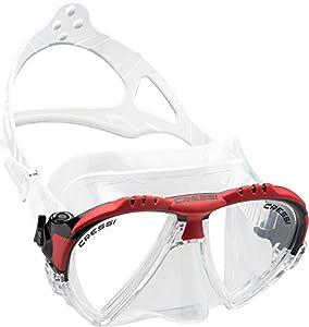 Cressi - Gafas de natación Matrix Diving, color negro