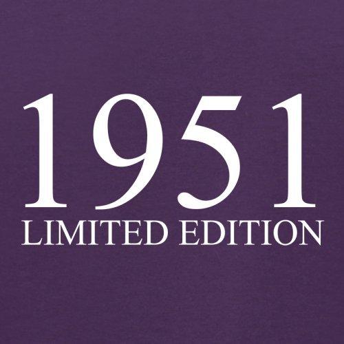 1951 Limierte Auflage / Limited Edition - 66. Geburtstag - Herren T-Shirt - 13 Farben Lila