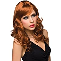 Pleasure Wigs Women's Aubrey Wigs, One Size, Red