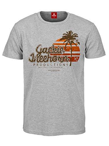 The Big Lebowski Treehorn Production T-Shirt grau meliert XXL -