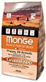 Monge Grain Free con Anatra e Patate All Breeds Puppy 2,5 Kg
