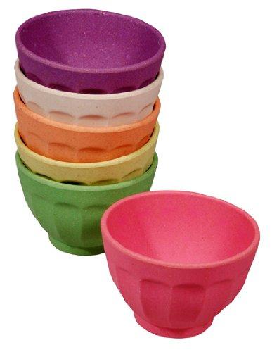 zuperzozial Dessertschalen 6er Set – Rainbow
