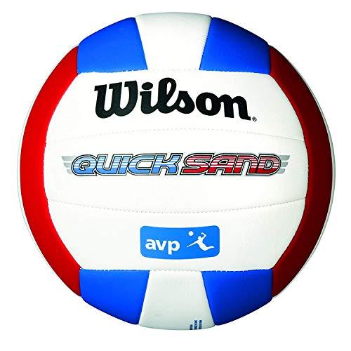 Wilson Volleyball, Outdoor, Freizeitspieler, AVP Quicksand, Rot/ Weiß/ Blau