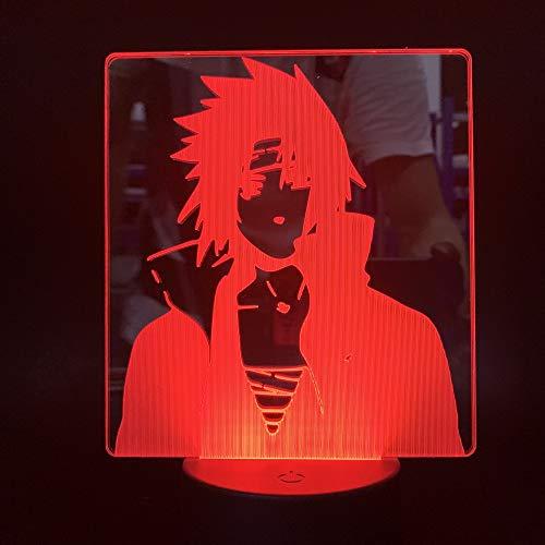 chtlicht Bunte Touch 3D Kleine Tischlampe Usb Stereo Vision Tischlampen Für Wohnzimmer Neujahr Halloween Party Geschenk ()