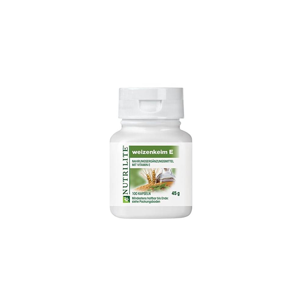 Nutrilite Weizenkeim E Normalpackung 100 Stck 45g Amway