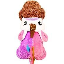 Supfirefly - Disfraz de unicornio para mascotas, para perros y gatos, Halloween e invierno