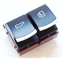 numero de pieza 35d959903 - Passat B6 CC JETTA 3 Depósito de combustible Portón Maletero botón interruptor de liberación CROMO