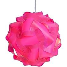 Excerando Puzzle lámpara/Puzzle IQ Tulipa de lámpara de techo lámpara de techo decoración moderna lámpara (Lampada Da Parete Finita)