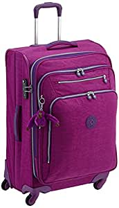 Kipling Youri Spin Large Spinner Trolley - Purp Dahlia C