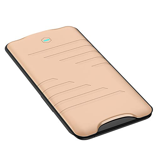 Codream Battery Case Compatible with Oppo Find X 5800mAh Ultra Slim Rechargeable Extended Charging Case Portable Protective Backup Power Bank Battery Pack Shell for Case -Golden
