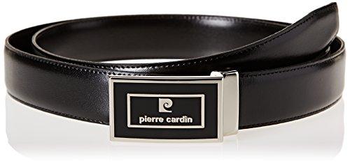 Pierre Cardin C156145602, Cintura Uomo, Nero, FR: 110 cm