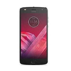 Motorola Moto Z2 Play Smartphone portable débloqué 4G (Ecran: 5,5 pouces - 64 Go - Double Nano-SIM - Android) Gris