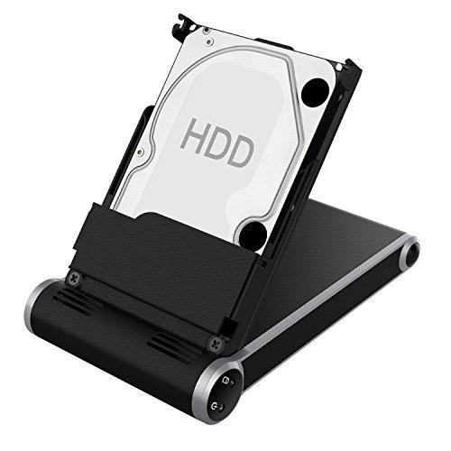 Dockingstation, SOWTECH USB 3.0 Hard Drive Docking Enclosure Station Festplattengehäuse für 2,5in SATA I / II / III HDD und SSD (schwarz)