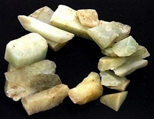 Edelstein roh Serpentin Chips 500 gr. (Grundpreis 1 kg = 13,80 €)