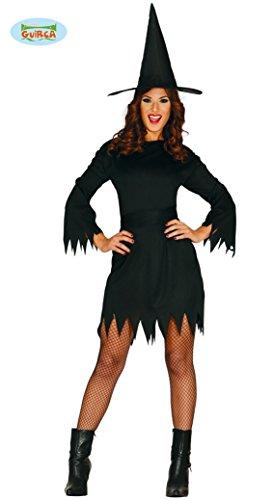 Kostüme Günstige Halloween (Hexen Spar Kostüm für Damen Gr. M/L,)