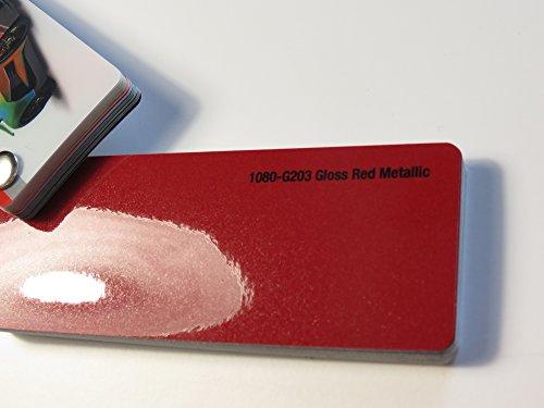 3 M scotchprint 1080 film de «covering rouge métallisé sur 100 x 152 cm