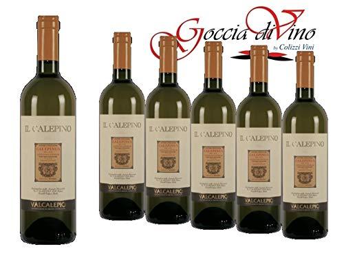 6 bottiglie VALCALEPIO Bianco DOC 2018 Il Calepino