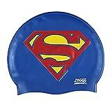 Zoggs Kinder Superman-Silicone Cap Badekappe