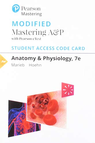 Modified Mastering A&p With Pearson Etext Standalone Access Card: Includes Digital Download ()